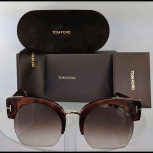 Brand New Authentic Tom Ford Sunglasses Savannah